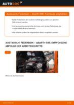 Tipps von Automechanikern zum Wechsel von ABARTH Abarth 595 1.4 (312.AXF11, 312.AXF1A, 312.AXD1A) Bremsbeläge