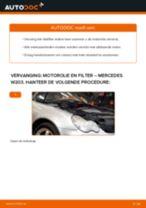 PDF handleiding voor vervanging: Oliefilter motor MERCEDES-BENZ C-Klasse Sedan (W203)