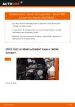 Changement Flexible De Frein arrière et avant Audi A3 8va : guide pdf