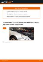 Udskift motorolie og filter - Mercedes W203 | Brugeranvisning