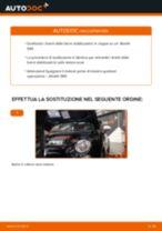 Cambio Ganasce Freno anteriore e posteriore OPEL MERIVA: guida pdf