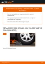 Auto mechanic's recommendations on replacing MINI MINI MINI (R50, R53) 1.6 One Strut Mount
