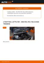 Skifte Luftfilter MINI MINI: gratis pdf