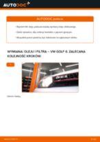 Jak wymienić oleju silnikowego i filtra w VW Golf 6 - poradnik naprawy