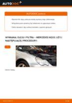 Jak wymienić Filtr olejowy MERCEDES-BENZ C-CLASS (W203) - instrukcje online