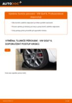 Instalace Hlavni brzdovy valec VW GOLF VI (5K1) - příručky krok za krokem