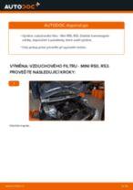 Podrobné PDF tutoriály, jak vyměnit Axiální Táhlo Řízení na autě Peugeot 508 SW