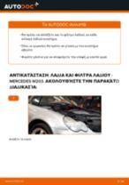 Πώς να αλλάξετε λαδια και φιλτρα λαδιου σε Mercedes W203 - Οδηγίες αντικατάστασης