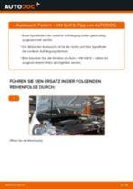 VW Schraubenfeder hinten links rechts selber austauschen - Online-Bedienungsanleitung PDF