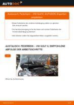 Stoßdämpfer austauschen VW GOLF: Werkstatt-tutorial