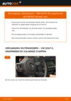 Hoe ruitenwissers vooraan vervangen bij een VW Golf 6 – vervangingshandleiding