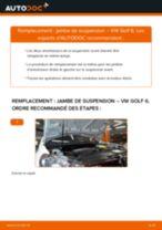 Tutoriel PDF étape par étape sur le changement de Vanne Egr sur VW Golf IV