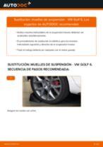 Cómo cambiar: muelles de suspensión de la parte trasera - VW Golf 6   Guía de sustitución