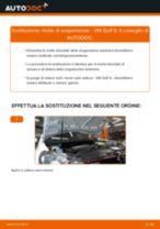 Come cambiare molle di sospensione della parte anteriore su VW Golf 6 - Guida alla sostituzione