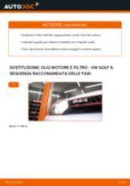 Come cambiare è regolare Filtro dell'olio VW GOLF: pdf tutorial