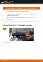 PDF guide för byta: Spiralfjäder VW GOLF VI (5K1) bak och fram