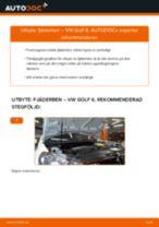 Byta fjäderben fram på VW Golf 6 – utbytesguide