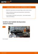 VW GOLF Jousi vaihto: ohjekirja