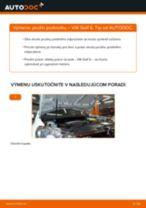 Ako vymeniť predné pružina podvozku na VW Golf 6 – návod na výmenu