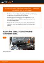 Πώς να αλλάξετε ελατήρια ανάρτησης εμπρός σε VW Golf 6 - Οδηγίες αντικατάστασης