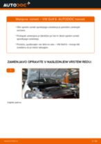 Kako zamenjati avtodel vzmeti spredaj na avtu VW Golf 6 – vodnik menjave