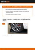 Kā nomainīt: aizmugures atsperes VW Golf 6 - nomaiņas ceļvedis