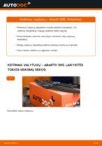 Automechanikų rekomendacijos ABARTH Abarth 595 1.4 (312.AXF11, 312.AXF1A, 312.AXD1A) Vikšro Valdymo Svirtis keitimui