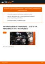Žingsnis po žingsnio remonto vadovas ABARTH 500 / 595 / 695