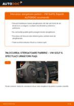 Cum să schimbați: stergatoare parbriz din față la VW Golf 6 | Ghid de înlocuire