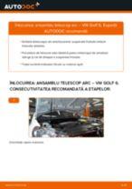 Schimbare Amortizor VW GOLF: manual de intretinere si reparatii