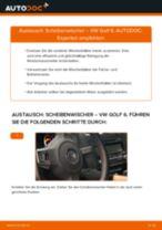 Wie VW Golf 6 Scheibenwischer vorne wechseln - Schritt für Schritt Anleitung