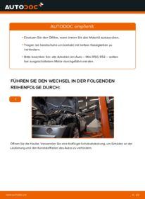 Wie der Wechsel durchführt wird: Ölfilter 1.6 Cooper MINI MINI (R50, R53) tauschen