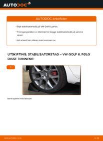 Slik bytter du Stabilisatorstag på VW GOLF