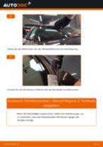Schritt-für-Schritt-Anweisung zur Reparatur für Renault Megane 2 Cabrio