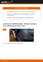 Tipps von Automechanikern zum Wechsel von RENAULT Renault Kangoo kc01 1.4 Luftfilter