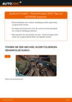 Wie Bremstrommel hinten und vorne beim Peugeot 206 SW wechseln - Handbuch online