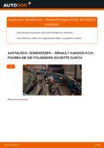 FORD StreetKA Querlenker wechseln vorne unten hinten ( links + rechts ) Anleitung pdf