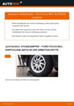 Wie Ford Focus MK2 Stoßdämpfer hinten wechseln - Schritt für Schritt Anleitung