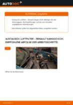 Instruktionen im PDF-Format und ein Wartungsplan für Pkw, über die sich Ihre Geldbörse freuen wird