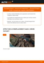 Montage Ressort RENAULT KANGOO (KC0/1_) - tutoriel pas à pas