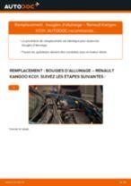 Notre guide PDF gratuit vous aidera à résoudre vos problèmes de RENAULT Renaul Kangoo 1 1.4 Plaquettes de Frein