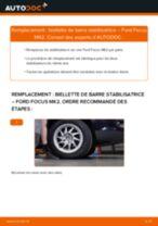 Comment changer : biellette de barre stabilisatrice avant sur Ford Focus MK2 - Guide de remplacement
