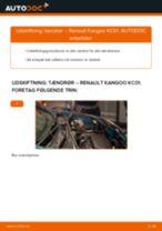 Skifte Ophængning manuel gearkasse RENAULT KANGOO: guider online