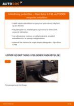 Udskift pollenfilter - Opel Astra G F48 | Brugeranvisning