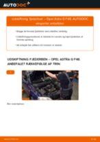 Udskift fjederben for - Opel Astra G F48 | Brugeranvisning