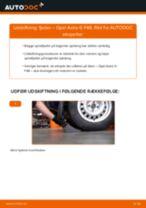 Udskift fjeder bag - Opel Astra G F48 | Brugeranvisning