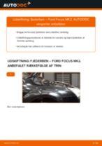 Udskift fjederben for - Ford Focus MK2 | Brugeranvisning