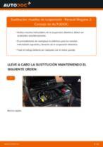 Cambiar Muelles de Suspensión RENAULT MEGANE: manual de taller