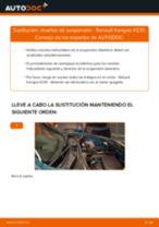Instalación Resortes de suspension RENAULT KANGOO (KC0/1_) - tutorial paso a paso