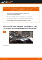 Cómo cambiar: amortiguador telescópico de la parte delantera - Ford Focus MK2 | Guía de sustitución